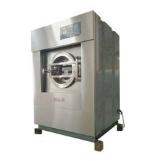 Compact Industrial Cloth Washing Machine , Industrial Washer Extractor Strong Structure