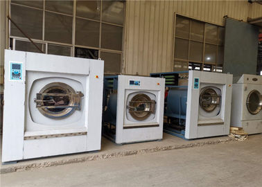 SS 304 Industrial Washing Equipment , Large Capacity Industrial Washing Machine